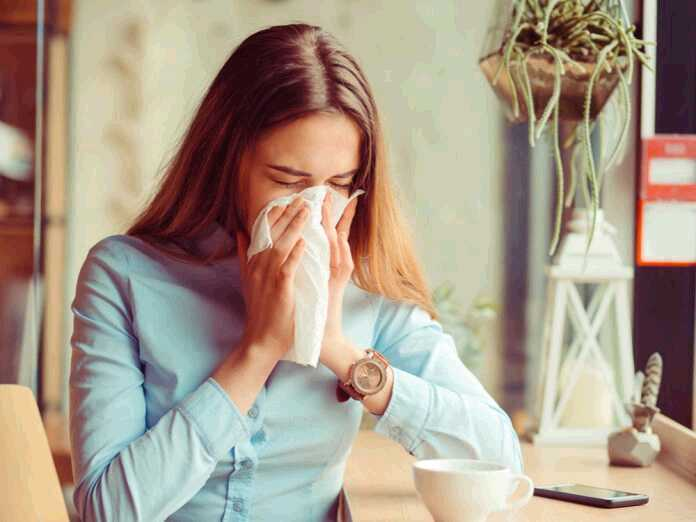 difference between colds and allergies